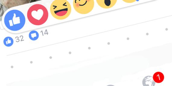 reacciones facebook